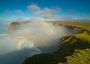Broken Spectre from the Cliffs of Moher by Sean Tomkins
