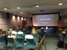 RMetS Careers Information Day for Young People, 23 June 2018 (photo: John Hammond)