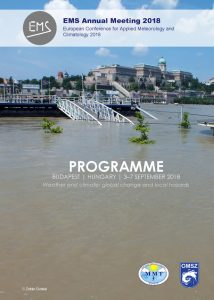 EMS2018 Programme book cover