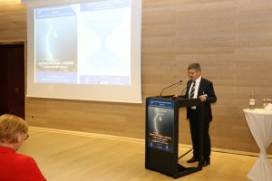 President of Croatian Meteorological Society. Photo credit: Ivan Lukac (DHMZ).