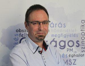 Ákos Németh (photo credit: Dorottya Szabó, OMSZ)