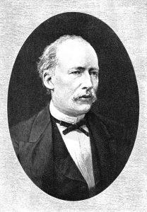 Figure 1: Niels Henrik Cordulus Hoffmeyer. Source: https://en.wikisource.org/wiki/File:PSM_V39_D010_Niels_Henrik_Cordulus_Hoffmeyer.jpg
