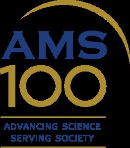 AMS Centennial Campaign logo