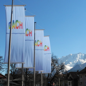 DACH Banners in Garmisch-Partenkirchen (photo credit: H. Volkert)