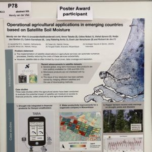Outstanding poster award at EMS2019