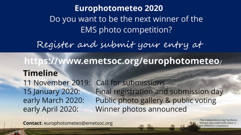 Announcement EMS photo competition (EPM2020)