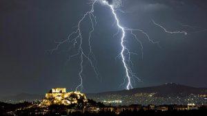 Zeus Over Athens
