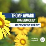 Call for applications: EMS Tromp Award