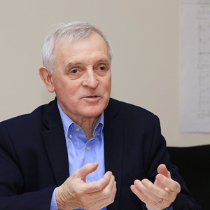 Jean Jouzel (photo credit: Alexandra Khlopotova)