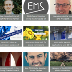 screen picture section of the ems-message April 2020