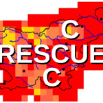 Logo of RESCCCUE project: winner of EMS Outreach & Communication Award 2020