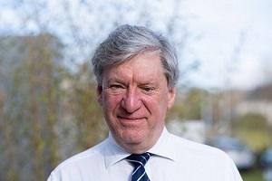 Gary Johnston, RMETS VP for Scotland (photo: peter jehle 2018)