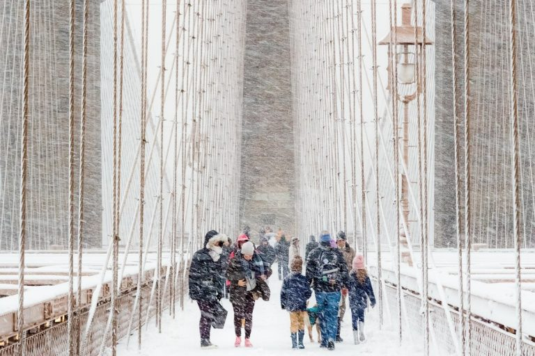 Blizzard, Rudolf Sulgan, Weather Photographer of the Year 2020