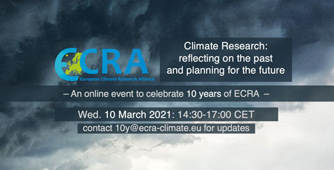 ECRA webinar: 10 years of climate research