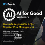 Towards Responsible AI for Disaster Risk Management (photo rights: ITU)