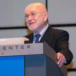 Sergej Zilitinkevich 2015, awarded the Alfred Wegener Medal (Credit: Foto Pfluegl/EGU)