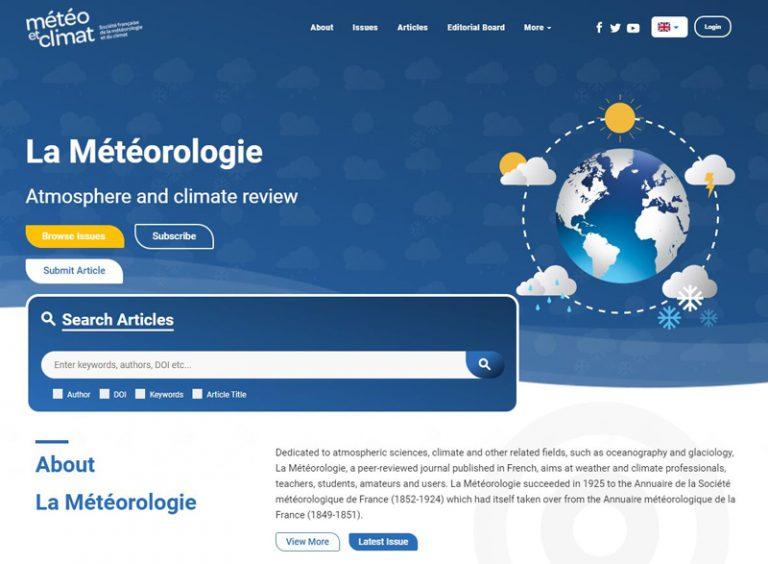 La-meteorologie landing page