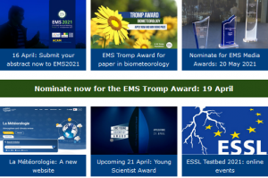 ems-message April 2021: screen capture section