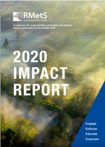 front cover_RMetS 2020 Impact Report
