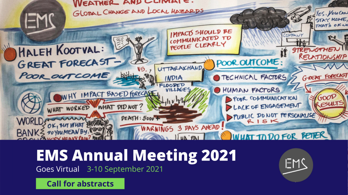 EMS2021 online: call for abstracts